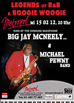 BIG JAY MCNEELY-USA & Michael Pewny Band
