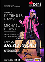 """THE VOICE"" Tye Tender & Band feat. Michael Pewny"
